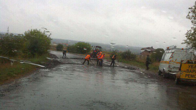 За неякісний ремонт дороги у Яворові підрядник не отримає оплати