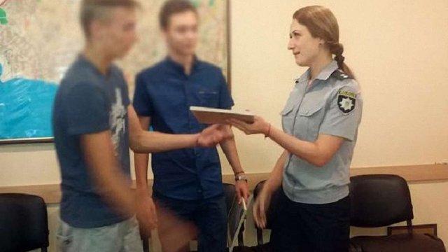 В Одесі школяр допоміг затримати грабіжника