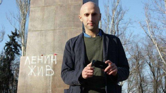 На межі з Кримом російський пропагандист намагався спровокувати українських прикордонників