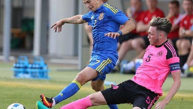 Молодіжна збірна України з футболу розгромила Шотландію у відборі на Євро-2017