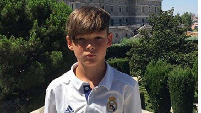 11-річний футболіст із Рівненської області став голкіпером мадридського «Реалу»