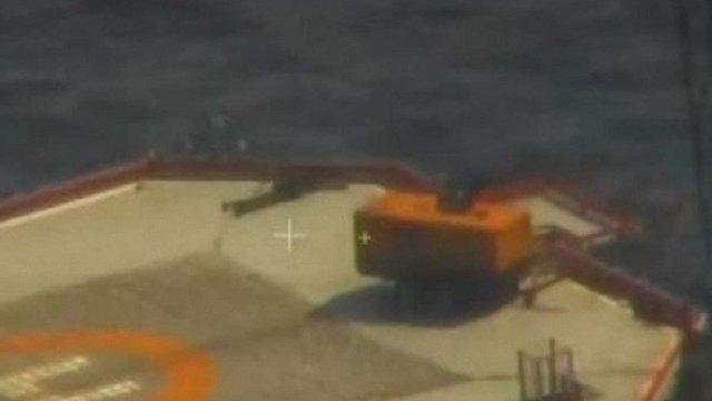 Прикордонники оприлюднили докази захоплення Росією майна України в Чорному морі