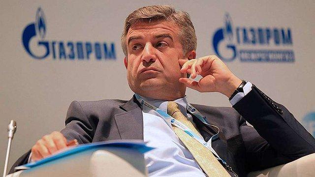 Топ-менеджер «Газпрому» стане новим прем'єр-міністром Вірменії, - ЗМІ