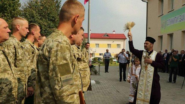 На Львівщині відкрили оновлений відділ прикордонної служби «Павловичі»