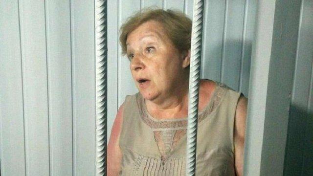 Екс-нардепа від КПУ Аллу Александровську залишили під вартою