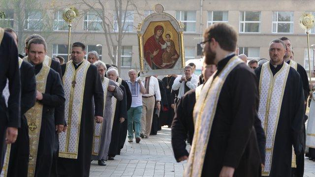 Молитовну ходу у Львові очолив голова УГКЦ