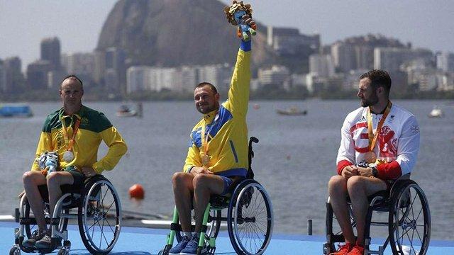 Українець Роман Полянський виграв золото Паралімпіади у веслуванні