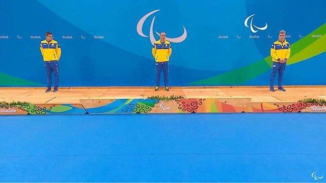 Українські плавці вибороли усі три медалі Паралімпіади в запливі на 200 метрів