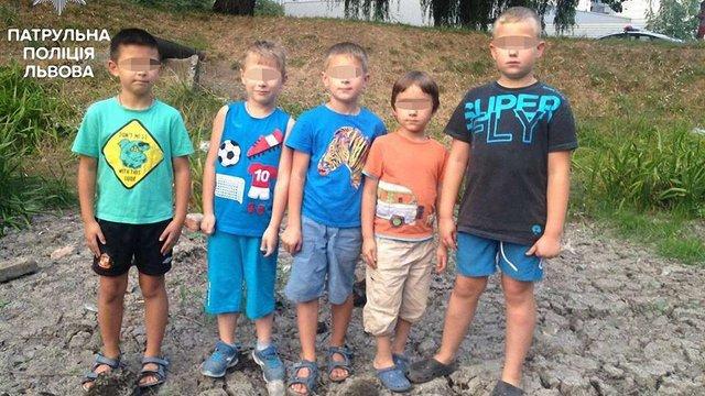 У висохлому озері у Львові діти знайшли револьвер і викликали поліцію