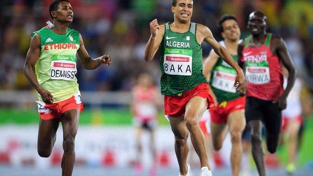 Паралімпійці пробігли дистанцію на 1500 м швидше за олімпійського чемпіона Ріо-2016