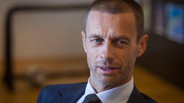 Новим президентом УЄФА став словенець Александер Чеферін