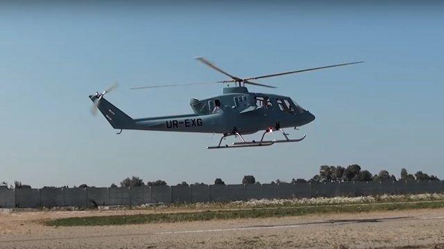 З'явилося відео першого польоту нового швидкісного українського вертольота VV-2