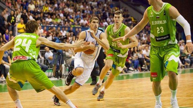 Українські баскетболісти програли Словенії в останньому матчі відбору Євробаскету-2017