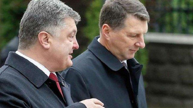 Президенти України і Латвії обговорять повернення конфіскованих €50 млн