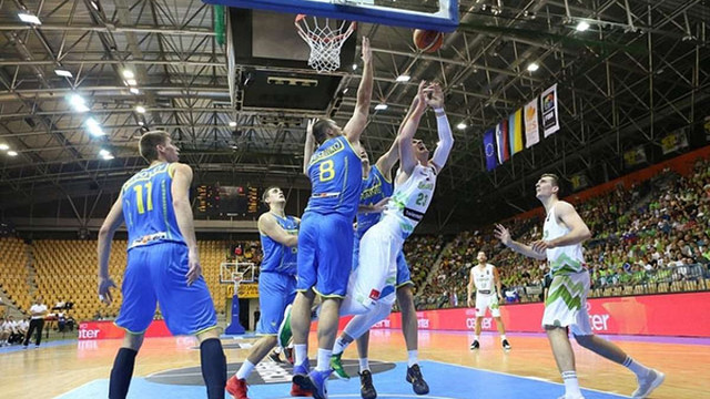 Збірна України потрапила на Євробаскет-2017