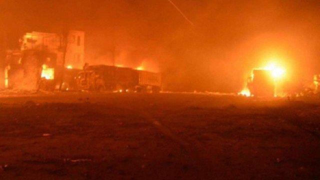 У Сирії внаслідок обстрілу гуманітарного конвою загинуло 12 людей