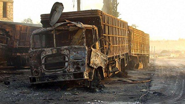 Гуманітарний конвой ООН в Сирії бомбардували російські Су-24, – розвідка США