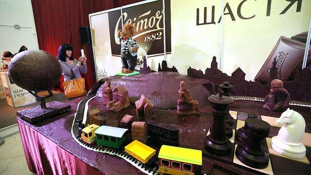 В Україні зросло виробництво шоколаду