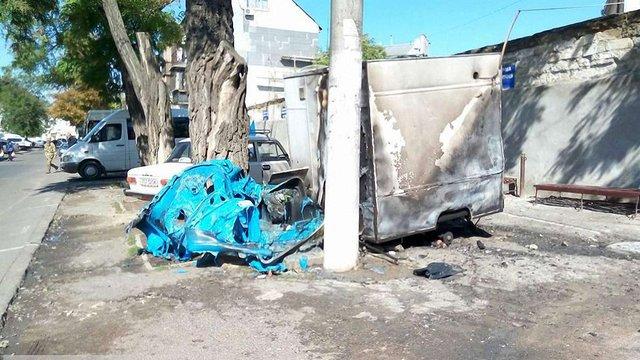 В Одесі невідомі закидали автостанцію «коктейлями Молотова», загинув охоронець