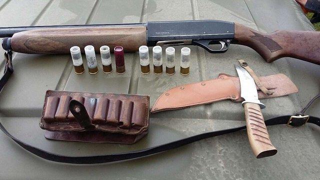 Біля кордону з Польщею на Львівщині затримали озброєного браконьєра
