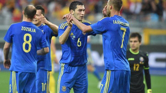Збірна України зіграє з Косово матч відбору до ЧС-2018 у Кракові