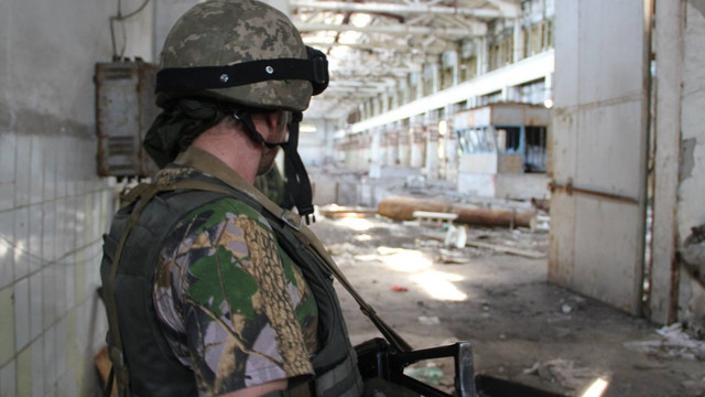 Минулої доби у зоні АТО загинув один військовий, шестеро - поранені