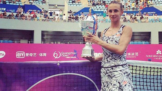 Леся Цуренко піднялась відразу на 27 позиційу рейтингу найсильніших ракеток світу