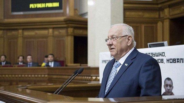 Президент Ізраїлю звинуватив бійців ОУН у сприянні Голокосту