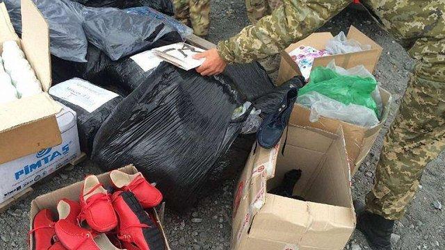 СБУ затримала у зоні АТО незаконний вантаж на ₴1 млн