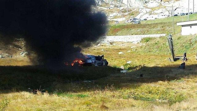 У Швейцарії в горах розбився військовий вертоліт