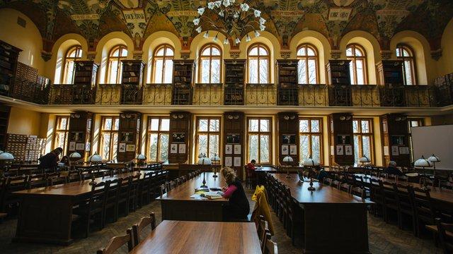 Львівський національний університет проведе «Ніч у бібліотеці»