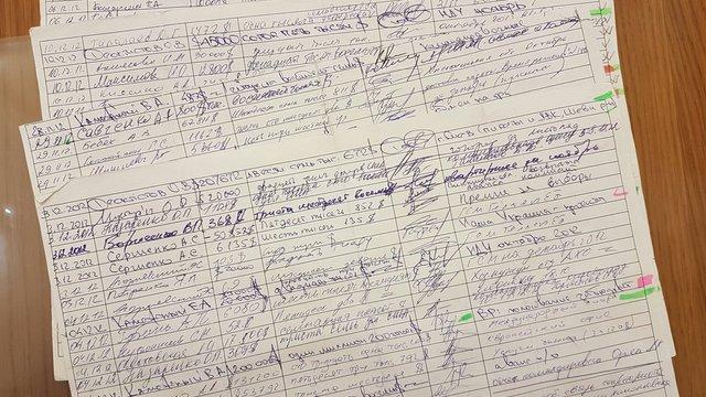 Арсен Аваков передав НАБУ кілька аркушів «чорної бухгалтерії» Партії регіонів