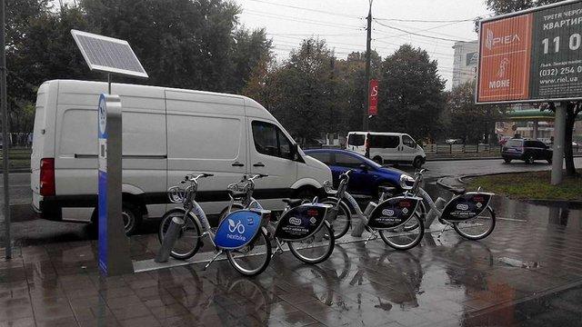 У Львові встановили ще дві станції велопрокату Nextbike