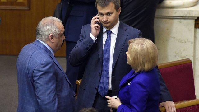 Сергій Березенко та Ірина Луценко вибрані заступниками голови фракції БПП