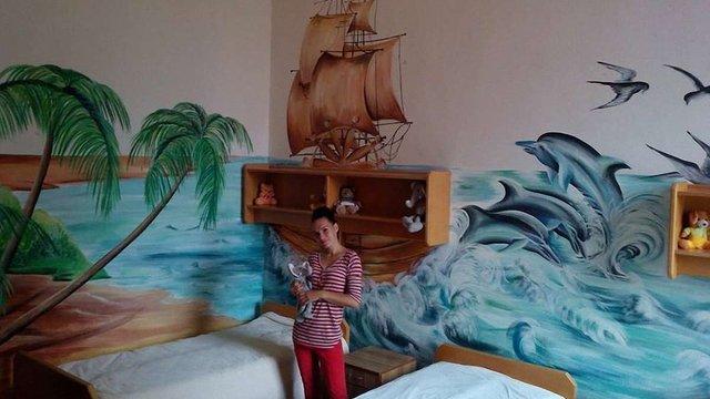 У Львові шукають художників для розфарбовування стін дитячих лікарень