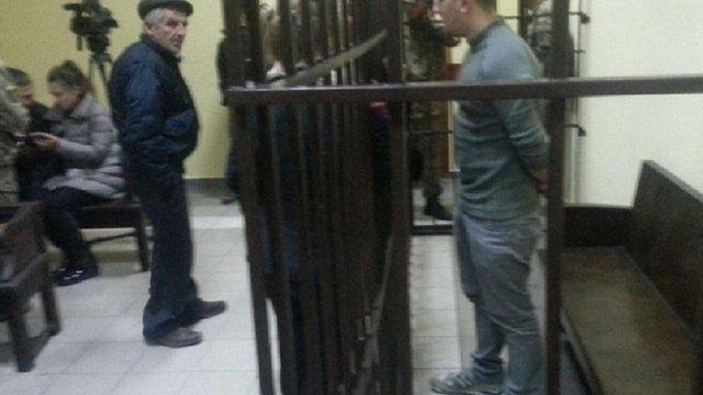 У Львові в суді над підозрюваними в тероризмі бійцями ОУН виникли сутички