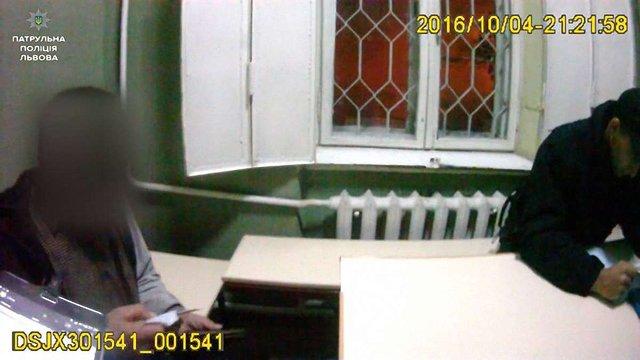 У Львові водій поскаржився в поліцію на п'яного пішохода на дорозі
