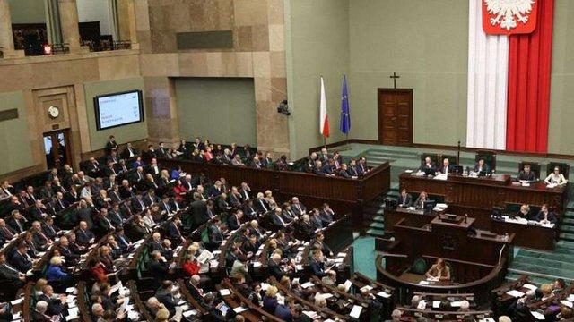 Сейм Польщі розглядає кримінальну відповідальність за заперечення геноциду на Волині