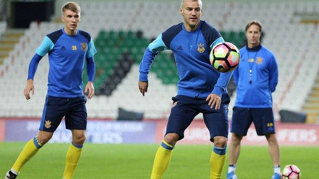 Збірна України втратила перемогу у матчі з Туреччиною