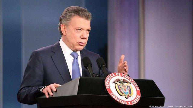 Нобелівську премію миру отримав президент Колумбії за припинення громадянської війни