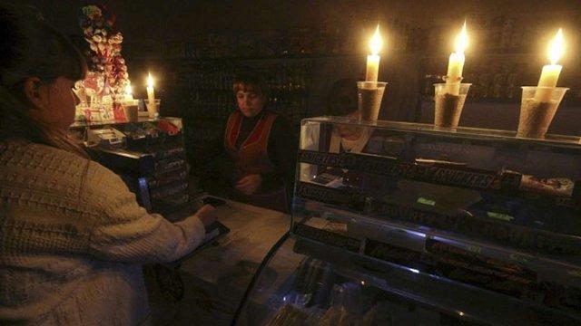 В окупованому Сімферополі з листопада планово відключатимуть електроенергію