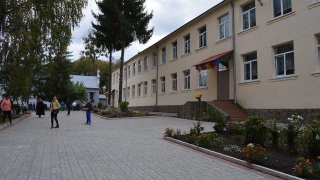 У Брюховичах відкрили освітній центр для дітей з особливими потребами