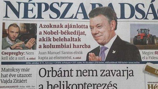 В Угорщині закрили найбільшу опозиційну газету