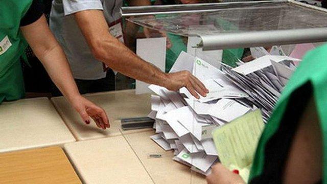 У Грузії після підрахунку 50% бюлетенів у парламент проходять дві партії