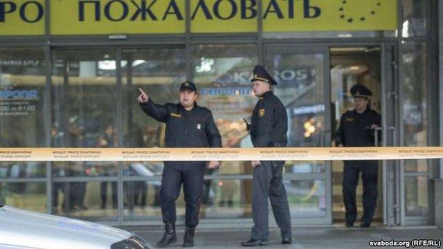 У Мінську в торговому центрі молодик з бензопилою напав на відвідувачів, загинула дівчина