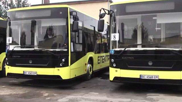 До Нового року Львів отримає 30 нових автобусів «Електрон»