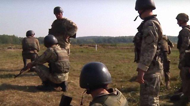 На Яворівському полігоні стартували міжнародні навчання десантників