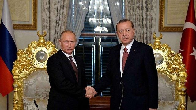 Росія підписала угоду з Туреччиною про будівництво газопроводу в обхід України