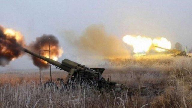 Бойовики застосували важку артилерію на Маріупольському напрямку в зоні АТО