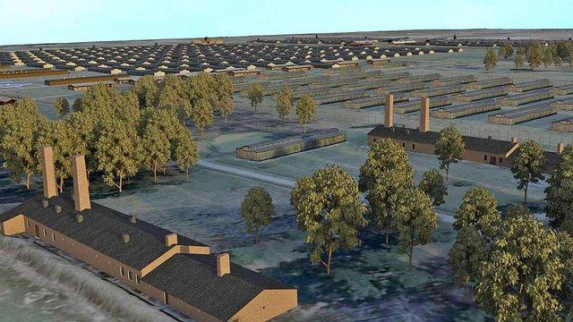 У Німеччині створили 3D-модель концтабору Аушвіц для судових процесів над посібниками нацистів